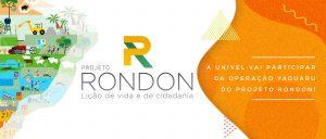 Inscreva-se no Projeto Rondon!